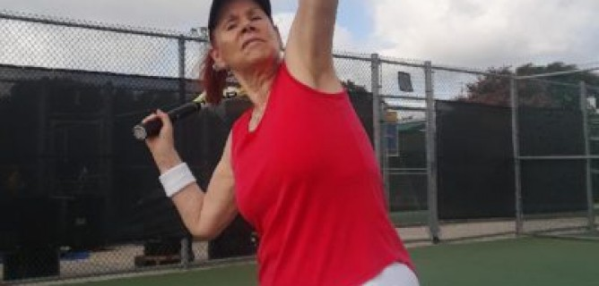 After near-death experience, she wasn't sure she would play tennis again