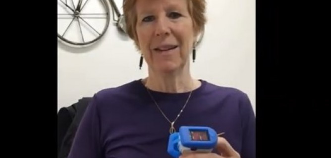 WATCH: This device could help you detect early warning signs of COVID-19