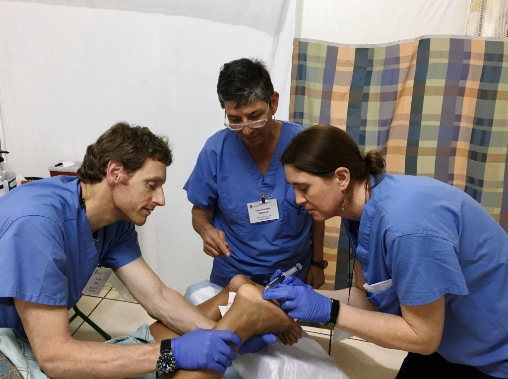 Cmes Offered At Honduras Mission Helping Prolotherapy Gain